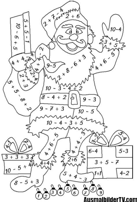 ausmalbilder klasse 1  bilder 2  mathe kinder mathe und