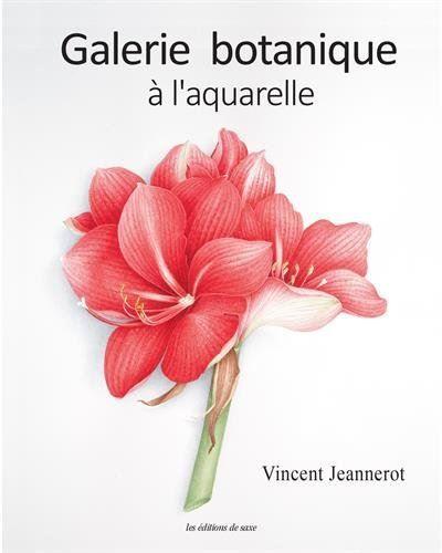L Aquarelle Botanique Watercolor Flowers Watercolor Art Book