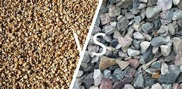 Driveway Gravel Types Pearl Resin Bound Gravel Crushed Stone