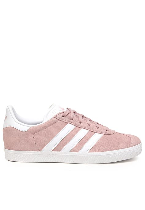 adidas gazelle cinza e rosa