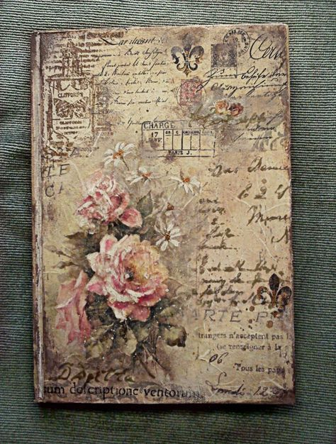 decoupage notebook cover , Αναζήτηση Google