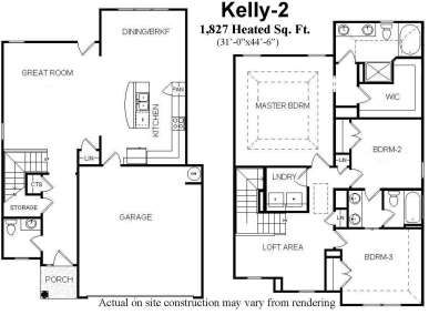 2 story open concept home plan with upstairs loft bill beazley rh pinterest com
