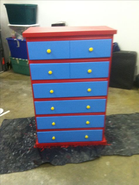 Dresser for a Thomas the Train bed :)