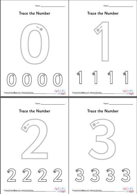 Trace The Number Worksheets 0 To 10 Kindergarten Worksheets Kindergarten Worksheets Printable Tracing Worksheets Preschool
