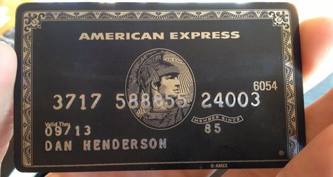 Most people who use the American Express Fine Hotels and Resorts program have the Platinum card - either Personal or Business. But there is another card that gives you the same benefits, and more - the American Express black card, or to use its real name - the Centurion card.