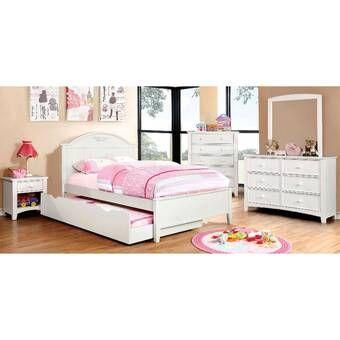 Gholston Panel Configurable Bedroom Set In 2020 Kids Bedroom Sets Full Platform Bed Bedroom Set