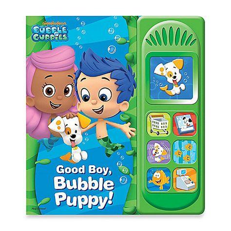 Bubble Guppies Little Sound Good Boy Bubble Puppy Play A Sound Board Book Kids Bubbles Bubble Guppies Birthday Bubble Guppies