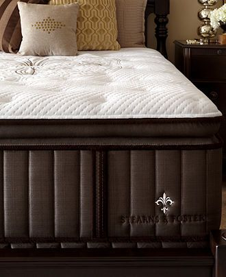 Stearns Foster Estate Lux Cudworth Euro Pillowtop Luxury Cushion Firm Queen Mattress Set For The Home Pinterest