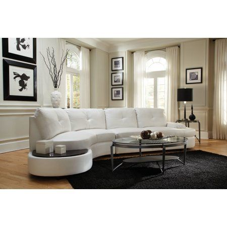 Simple Relax 1perfectchoice Talia White Contemporary Sectional