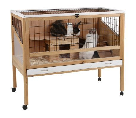 Kerbl Klietka Pre Male Zviera Indoor Deluxe 115x60x92 5cm Drevo 82725 1 6 Small Animal Cage Pet Cage Small Pets