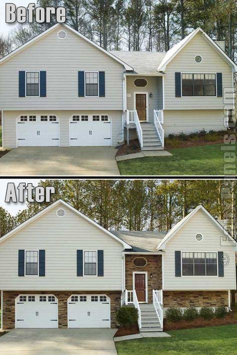 29 Split Entry Living Room Decorating Ideas Keep Home: New Exterior House Colors Split Level Front Porches 40+ Ideas