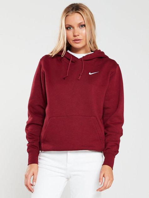 Nike Sportswear Essential Trend Hoodie Red | Products in