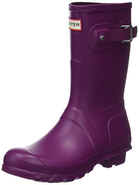 af7a4fc99fe81 Amazon.com | Hunter Women's Original Short Rain Boot | Mid-Calf ...