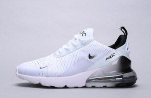 Mens Womens Winter Nike Air Max 270 Sneakers Gradient white