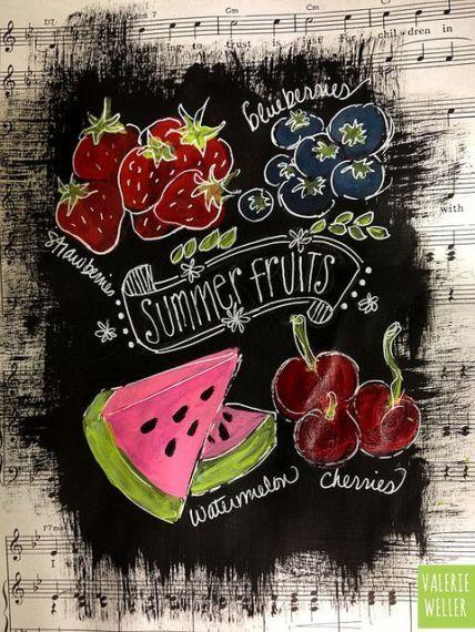 Arte do quadro de verão 82 - #quadro - #New