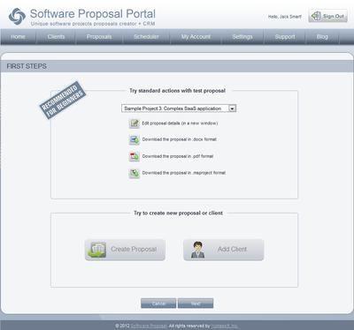 10 best Software Proposal Portal images on Pinterest Gate - software development proposal template