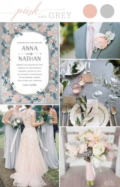 Wedding Themes 12 Color Schemes – 2017 summer wedding color trends wedding ins.