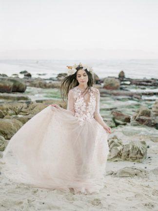Siren Of The Cape Town Shore Beach Bridal Editorial Cape Town