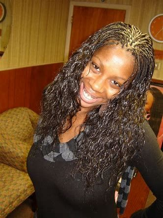 Image Result For Honey Blonde Micro Braids Wet And Wavy