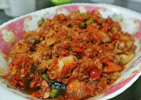 Resep Cumi Asin Sambal Manado Oleh Dwi Tyas Handayani Resep Resep Masakan Makanan Jalanan Makanan