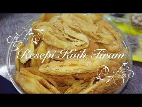Resepi Kuih Tiram Dan Cara Membentuknya Christmas Food Dinner Savory Snacks Asian Desserts