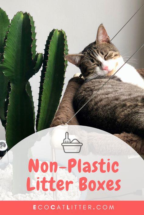 Non Plastic Litter Box Eco Friendly Alternatives Litterbox Litter Box Cat Pet Supplies Litter