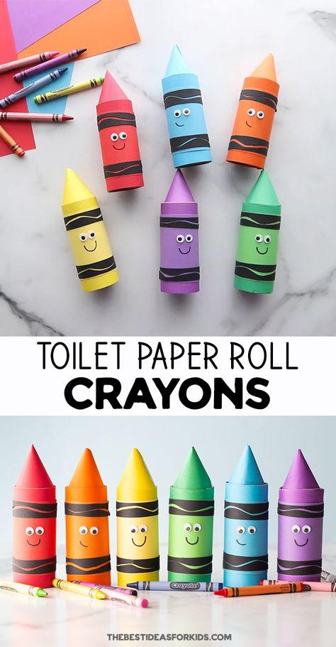 Preschool Colors, Craft Activities For Kids, Preschool Activities, Rainy Day Activities, Preschool Kindergarten, Activity Days, Indoor Activities, Family Activities, Recycled Crafts Kids