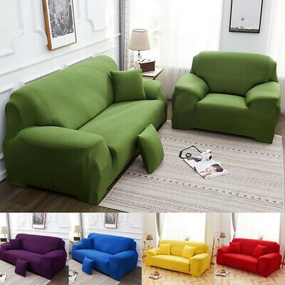 L Stretch Elastic Fabric Sofa Cover Pet Sectional Corner Couch Covers 4 Seaters Fabric Sofa Cover Sectional Couch Cover Slip Covers Couch