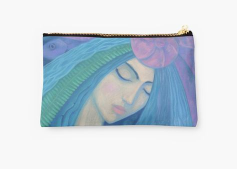 """""""The Pearl, Mermaid Princess, underwater fantasy art"""" Studio Pouches by clipsocallipso 
