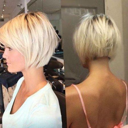 Kurzhaar Blond 2020 Trendfrisuren Frisuren Frisuren2020 In 2020 Haarschnitt Pflegeleichte Frisuren Kurze Gerade Frisuren