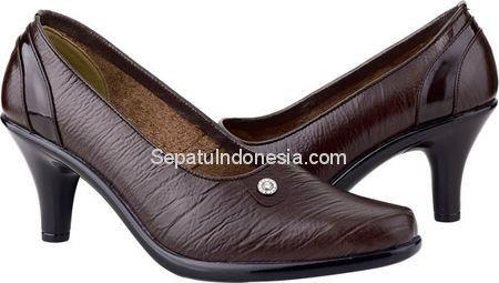 Sepatu Wanita Jkc 17 147 Kulit Coklat 36 40 Rp 356 400