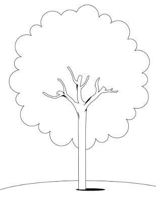 Desenhos De Arvores Para Colorir E Imprimir Tree Coloring Page