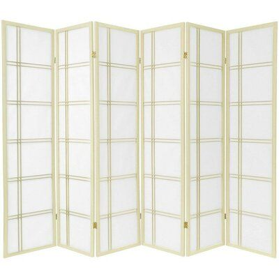 Marla 6 Panel Room Divider Allmodern Panel Room Divider Room Divider Oriental Furniture