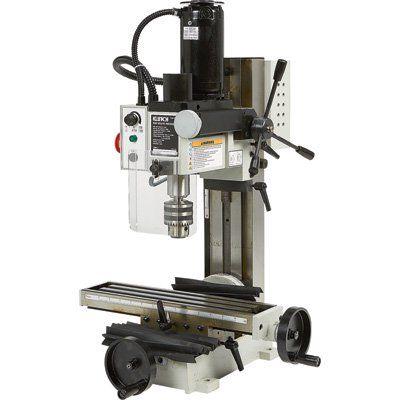 Klutch Mini Milling Machine 350 Watts 1 2 Hp 110v Milling Machine For Sale Milling Machine Benchtop Milling Machine