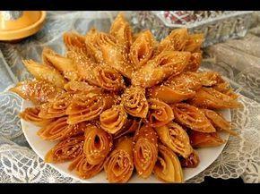 حلويات رمضان قريوش هشيش كرواش بطريقة ناجحة وبشكل رائع Youtube Dulces Chinos Aperitivos Dulces