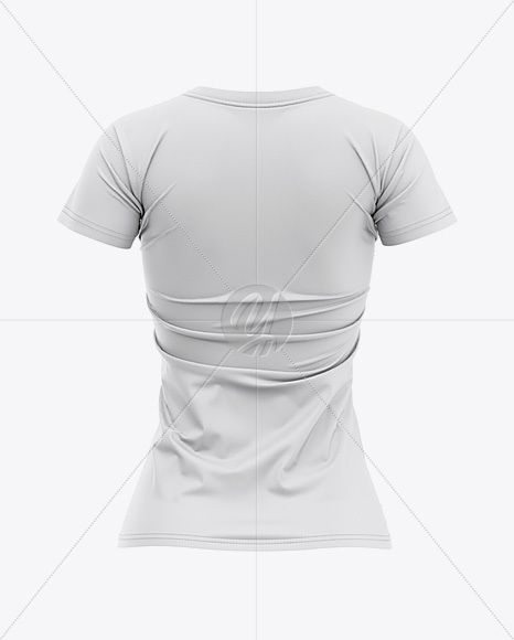 Download Women S Slim Fit T Shirt Mockup Back View In Apparel Mockups On Yellow Images Object Mockups Shirt Mockup Clothing Mockup Tshirt Mockup