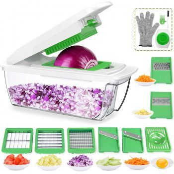 New Fruit Vegetable Dicer Heavy Duty Commercial Kitchen Prep Food Chopper Cutter