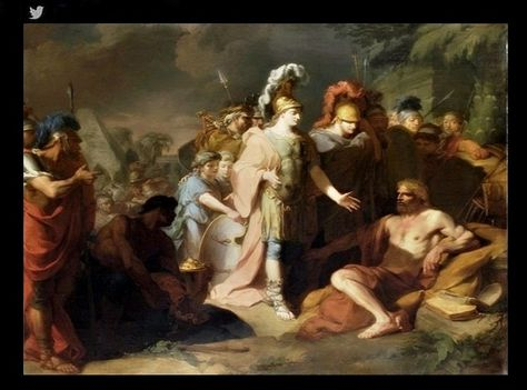 Alexander The Great And Diogenes Of Sinope Jean Baptiste