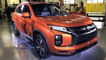 2020 Mitsubishi Outlander Sport Revealed In America Drops Manual Transmission