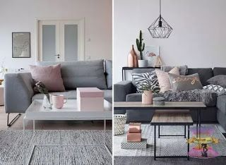ديكورات منازل حديثة ديكورات بسيطة وغير مكلفة للجدران In 2021 Blush Living Room Home Interior Design Interior Design Styles