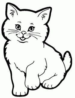 Kedi Boyama Sayfasi Cat Coloring Pages Free Printable