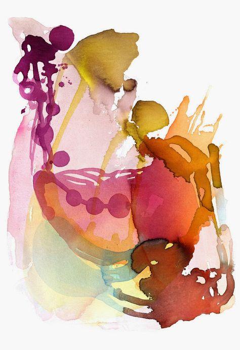 Michelle Armas. Watercolor titled Zap Zap 13x19