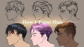 Medibang How I Draw Male Hairs Tutorial Youtube Drawing Male Hair Guy Drawing How To Draw Hair