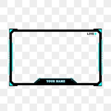 Twitch Overlay Live Stream Face Cam Border Border Clipart Streaming Overlay Facecam Png Transparent Clipart Image And Psd File For Free Download Overlays Transparent Free Overlays Overlays