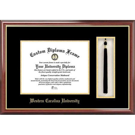 Western Carolina University 8 5 X 11 Tassel Box And Diploma Frame Walmart Com Diploma Frame Campus Images Frame