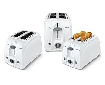 Ambiano 2 Slice Toaster 750w Power Wide Slots And Bagel Function