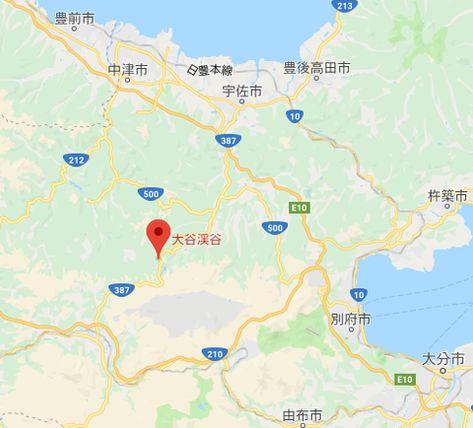 台風10号玖珠町の大谷渓谷でBBQの18人取り残され孤立川が増水車水没で馬鹿なのと疑問の声も