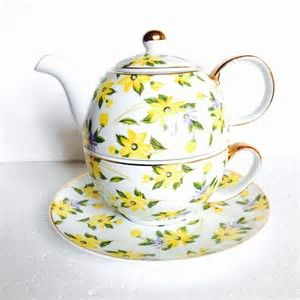 Tea For One Stacking Teapot Sets Tea Pots Tea Pots Vintage Cup