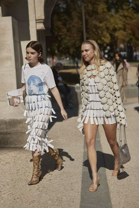 The Best Street Style Of Paris Fashion Week Paris holds the key to good style