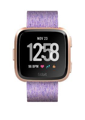Fitbit Versa Smartwatch Lavender Woven SE
